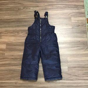 Carter's snow pants Sz 24 months adjustable